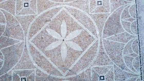 Pompei, ritorna a splendere la Casa dei mosaici geometrici