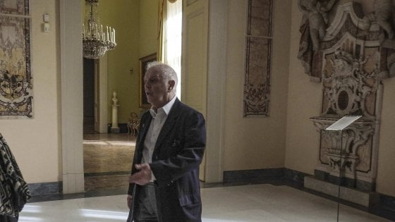 """Blitz del maestro Barenboim a Capodimonte: """"Staordinario, tornerò per ammirare le tante bellezze di Napoli"""""""