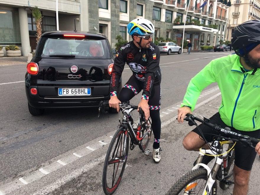Da Napoli A Londra In Bicicletta Il Tour Dellex Iridato Damore