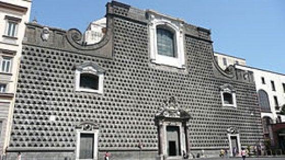 Raccolta fondi per finanziare il restauro della chiesa del Gesù Nuovo: traguardo 630mila euro