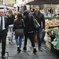 Il governatore in giro per Napoli: tappe al Trianon e al Pellegrini