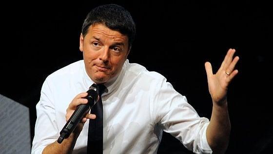 """Renzi: """"De Luca è uno che i soldi li spende bene, imperdonabili però le parole dette sulla Bindi"""""""