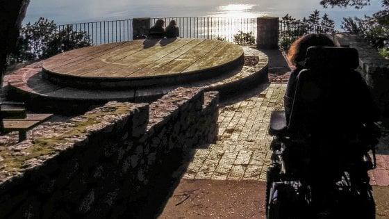 """Capri, il disabile e il belvedere negato: """"Ho il diritto di ammirare il mare"""""""