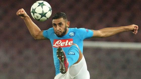 """Napoli, fiducia Ghoulam: """"Con l'Inter ci riprenderemo e ho fiducia in Gabbiadini"""""""