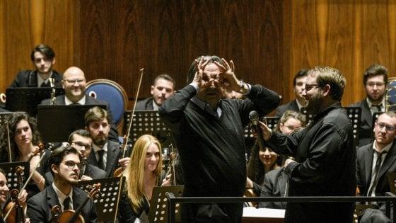 Muti, lezione e festa al Conservatorio di Napoli