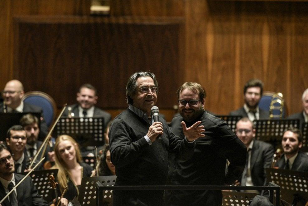Il maestro Muti al Conservatorio di Napoli