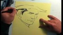 Tex Willer disegnato  da Giulio De Vita