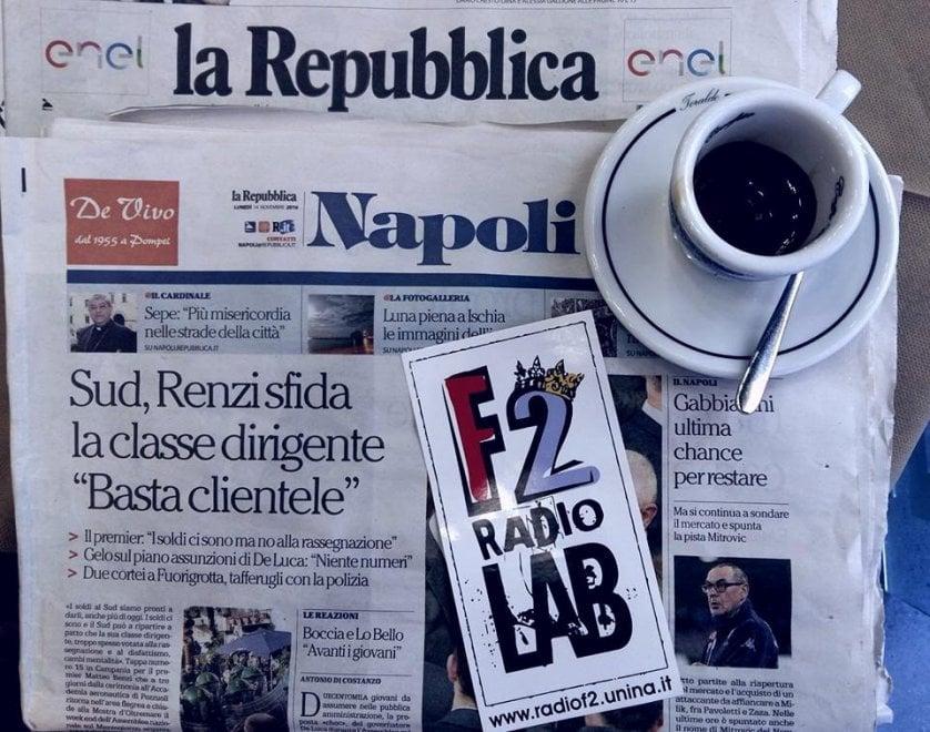 """""""Caffe' e Repubblica"""", la doppia diretta TV-radio lunedì 19 dicembre"""