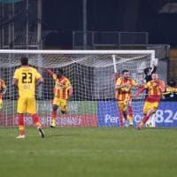 Il Benevento non si ferma più, vittoria e terzo posto da solo