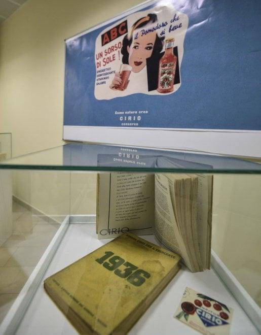 La mostra sulla storia della Cirio a Napoli