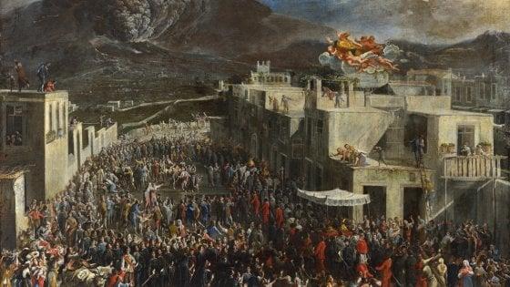 """Al museo di San Martino arriva una nuova acquisizione: """"L'eruzione del Vesuvio del 1631"""" di Micco Spadaro"""