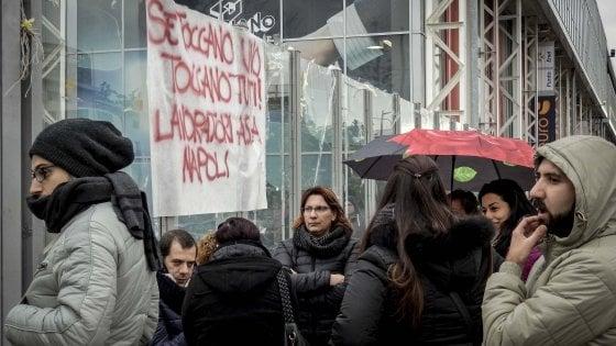 Almaviva, trovata intesa transitoria: bloccati i licenziamenti a Napoli