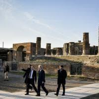 Pompei, Gentiloni e Franceschini inaugurano il restauro della Casa dei Vettii