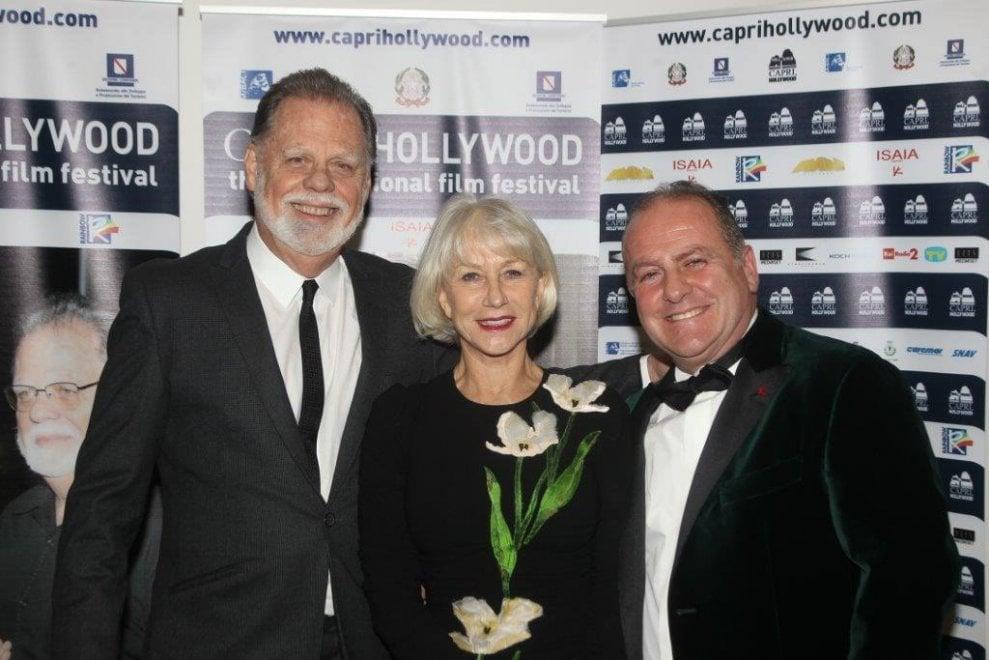 """Gran gala a """"Capri Hollywood"""" con Helen Mirren e Clementino"""