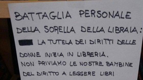 Telese Terme, la libraia offre un caffè per difendere i diritti delle bambine