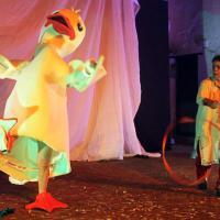 La Befana al teatro dei piccoli di Napoli: