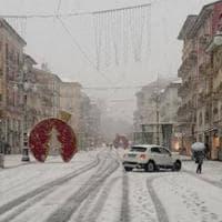 Maltempo: neve in Irpinia, disagi su autostrada A16