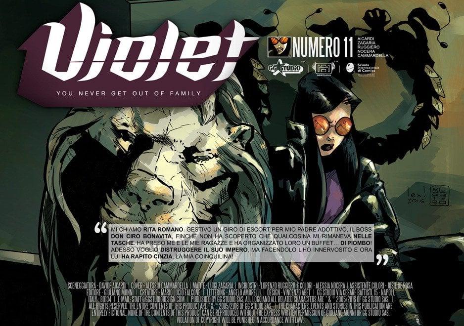 Violet episodio 11/ Resa dei conti