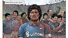 """""""Tre volte Diego"""" il fumetto in esclusiva"""