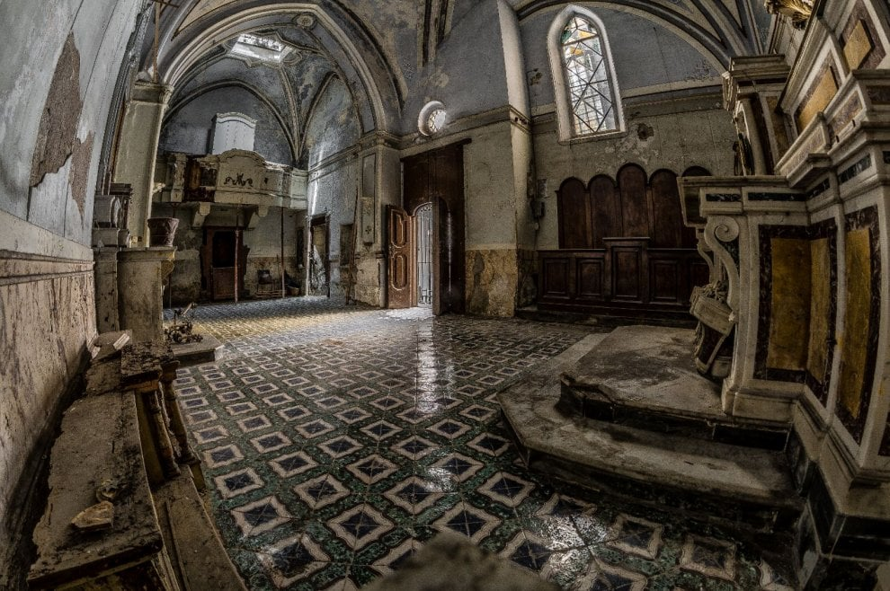 Salviamo il teschio con le orecchie e la chiesa di Santa Luciella: l'appello di Respiriamo Arte