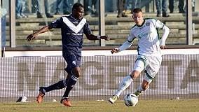 Avellino, colpo a Brescia (0-2)  con un super Ardemagni