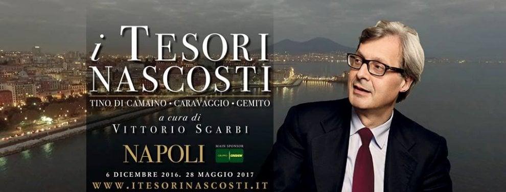 """Vittorio Sgarbi presenta il catalogo """"I tesori nascosti"""" nella chiesa della Pietrasanta"""