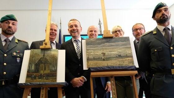 """Bellenger: """"Il 6 febbraio i due Van Gogh rubati in mostra a Capodimonte"""""""