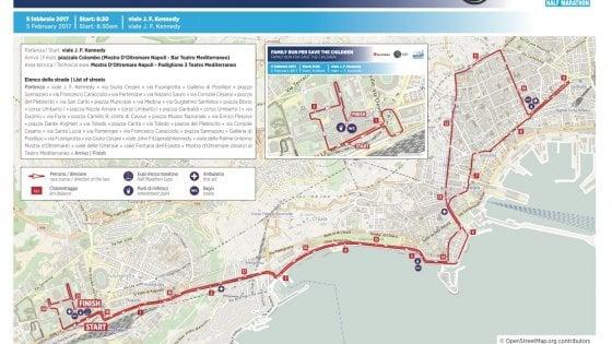 Domenica la mezza maratona di Napoli, 4 mila in strada