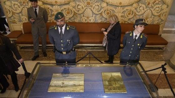 """""""Grazie Napoli"""": in mostra a Capodimonte i Van Gogh rubati dalla camorra"""