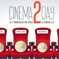 """Torna anche in Campania """"Cinema2Day"""", spettacoli e proiezioni a 2 euro"""