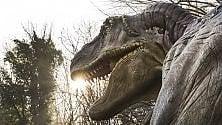 I dinosauri in carne  e ossa arrivano a Napoli
