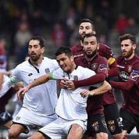 La Salernitana fermata in casa dal Cesena (1-1)