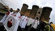I Templari in processione nelle vie del centro