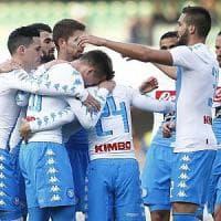 Il Napoli archivia Madrid: 3-1 al Chievo. Protagonista assoluto Insigne