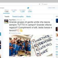 """Napoli, il tweet di Reina:  """"Grande gruppo di gente umile che lascia sempre tutto in campo"""""""