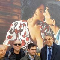 Inaugurato a  San Giorgio a Cremano il murale di Massimo Troisi