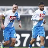 Napoli, che attacco record senza Higuain: mai gli azzurri avevano segnato