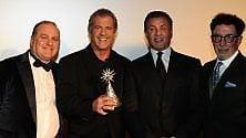 Premiati Mel Gibson  e Sylvester Stallone