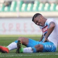 Tre settimane di stop Allan salterà le big: Juve, Roma e Real