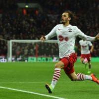 Gabbiadini non si ferma più: doppietta a Wembley nella finale di Coppa