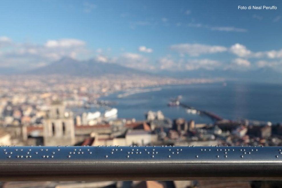 Napoli, a Castel Sant'Elmo un'opera descrive il panorama ai non vedenti