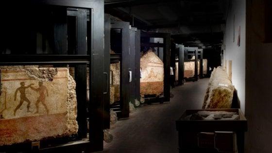 Paestum riaprono le stanze chiuse del museo for Le stanze di sara bologna