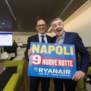 Ryanair investe su Napoli con 9 nuove rotte