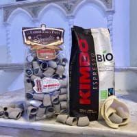 La pasta al caffè,  Kimbo presenta paccheri e fusilli al caffè: innovazione e tradizione per un prodotto unico ricco di antiossidanti