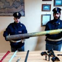 Corteo anti Salvini a Napoli, ecco il materiale sequestrato dalla Digos ai manifestanti
