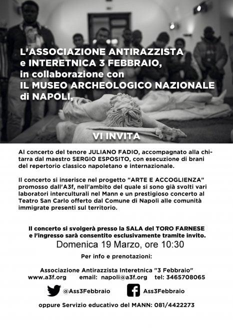 Dal San Carlo al Museo Archeologico, concerto arte e accoglienza a Napoli