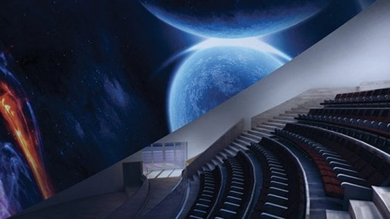Città della scienza, ecco il planetario: un viaggio in 3D tra stelle e pianeti