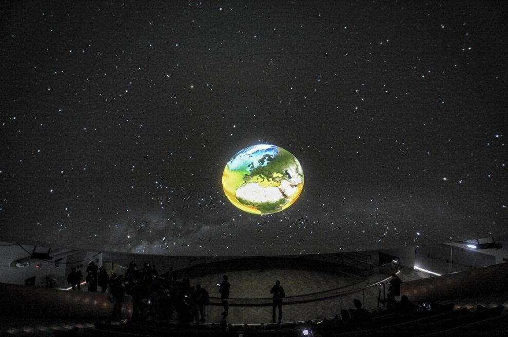Città della Scienza, ecco il planetario 3d più grande d'Italia