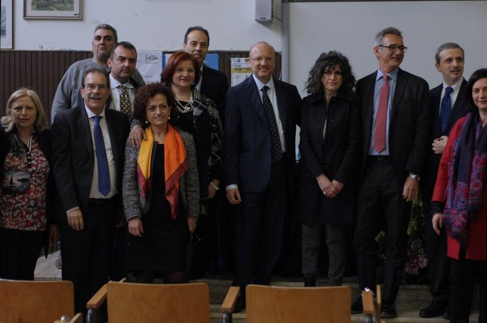 Il presidente di Confindustria Boccia torna nella sua scuola di Salerno