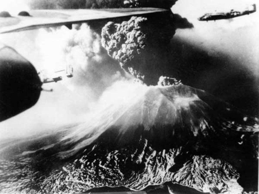 Vesuvio, l'ultima eruzione 73 anni fa